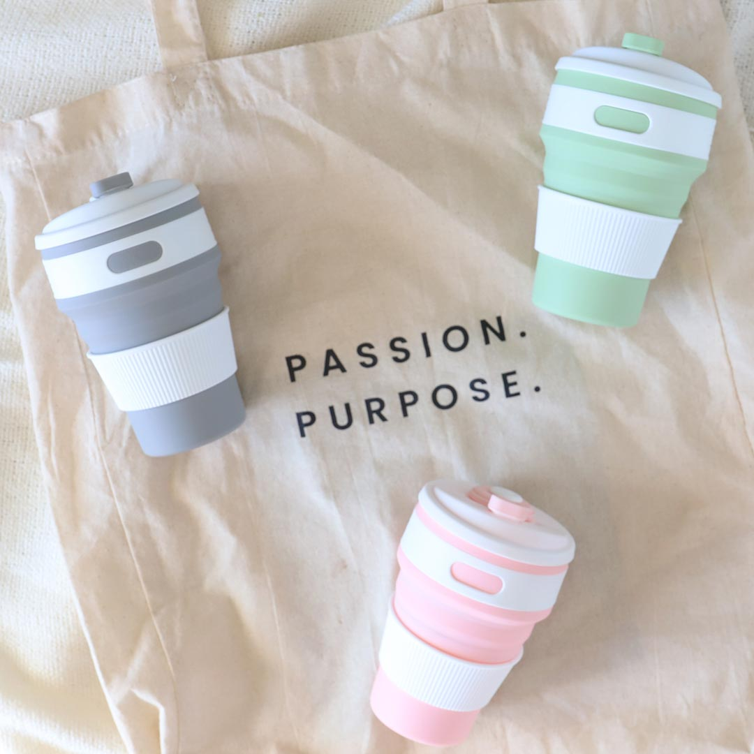 Pastel Collapsible Coffee Cup