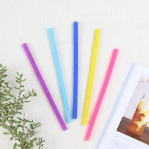Straight Coloured Reusable Straw