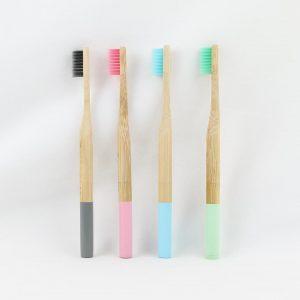 Bamboo Toothbrush 4 Set
