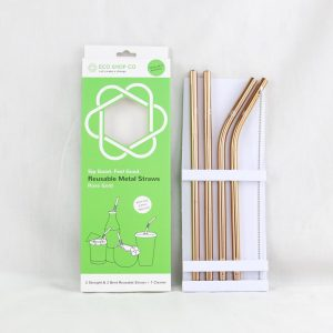 Metal Straws 4 Pack