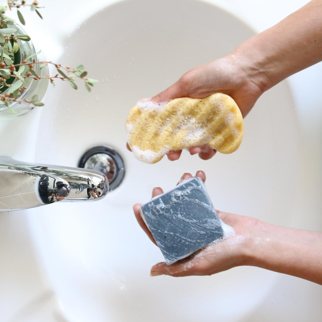 Plant-based Body Scrubber
