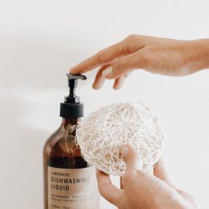 Compostable Dishwashing Scrubber