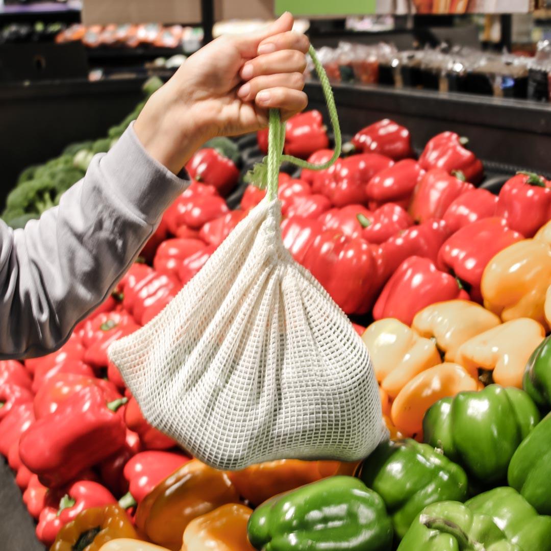 Drawstring Produce Bag