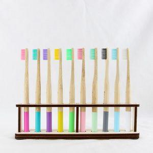 Bamboo Toothbrush Set of 10