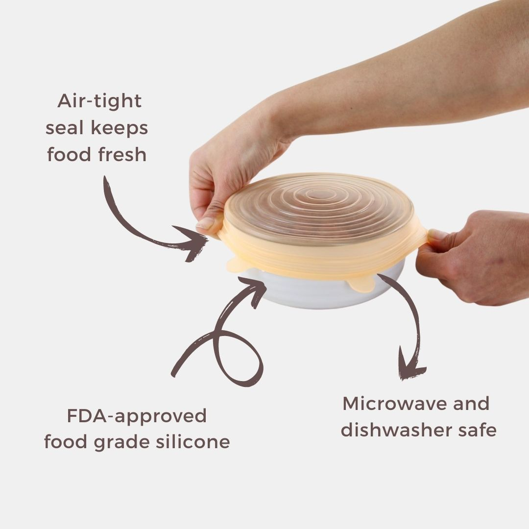 Reusable Food Cover Features